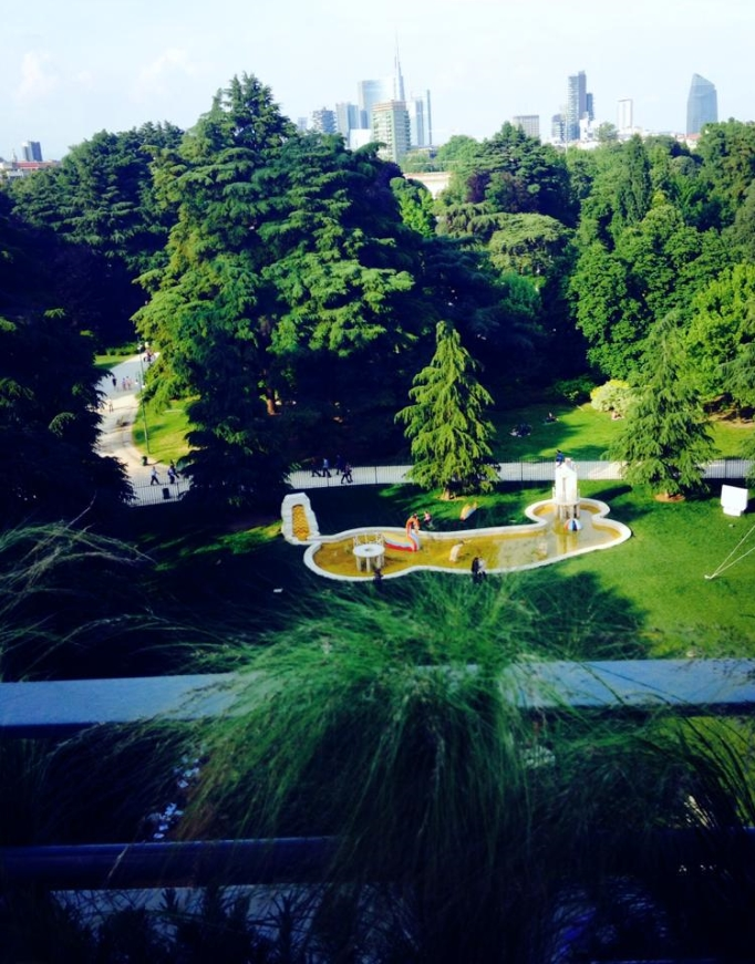 Terrazza Triennale Osteria Con Vista L Albero Della Carambola